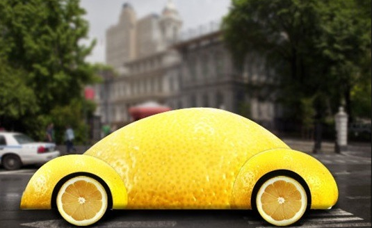 A lemon car
